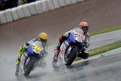 Jorge Lorenzo y Valentino Rossi