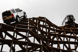 Land Rover display