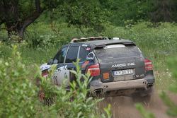 #28 STT Racing / Porsche Poland Porsche Cayenne S Transsyberia: Robert Szustkowski and Jaroslaw Kazberuk