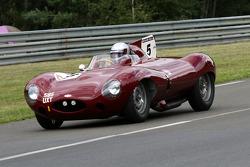#5 Jaguar D Type 1955: Irvine Aidlaw, Simon Hadfield, Michael Schryver