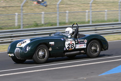 #28 Jaguar C Type 1953: David Wenman, Julian Bronson