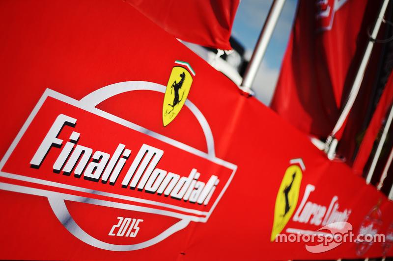 Finali Mondiali Ferrari logo oficial