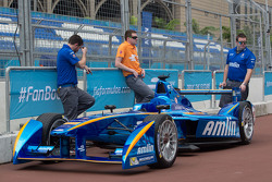 Amlin Andretti in der Boxengasse