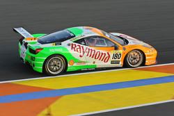 #180 Kessel Racing Ferrari 458: Гаутам Сингханиа