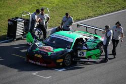 #46 Octane 126 Ferrari 458: Макс Бланкарди на стартовой решетке