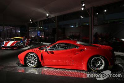 Презентация Ferrari 488 GTE и Ferrari 488 GT3
