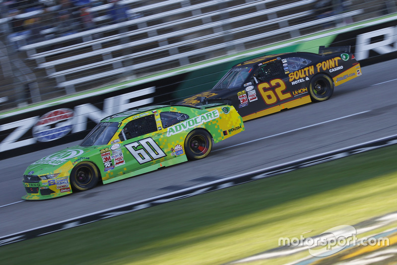 Кріс Бюшер, Roush Fenway Racing Ford та Brendan Gaughan, Річард Чілдресс Racing Chevrolet