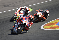 Michele Pirro, Ducati Team and Stefan Bradl, Aprilia Racing Team Gresini and Danilo Petrucci, Pramac Racing Ducati