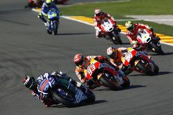 Хорхе Лоренсо, Yamaha Factory Racing, Марк Маркес и Дани Педроса, Repsol Honda Team