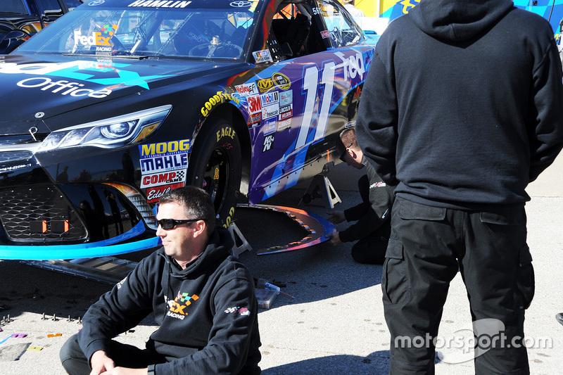 NASCAR confiscates Joe Gibbs Racing front splitters
