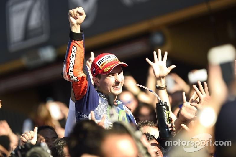 MotoGP: Jorge Lorenzo (Spanje)