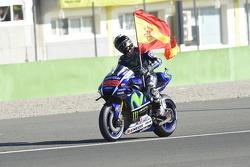 1. und Weltmeister 2015: Jorge Lorenzo, Yamaha Factory Racing