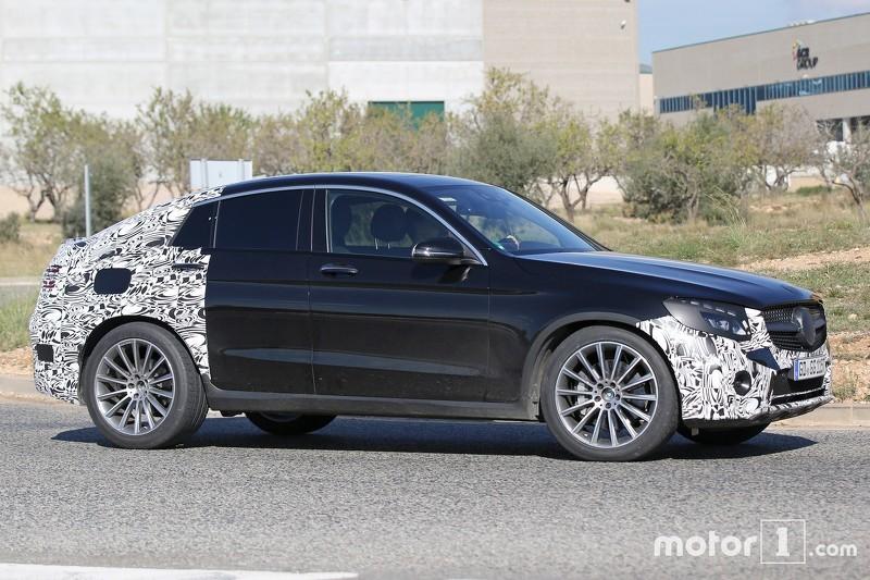 Шпигунські фото Mercedes-Benz GLC 450 Coupe