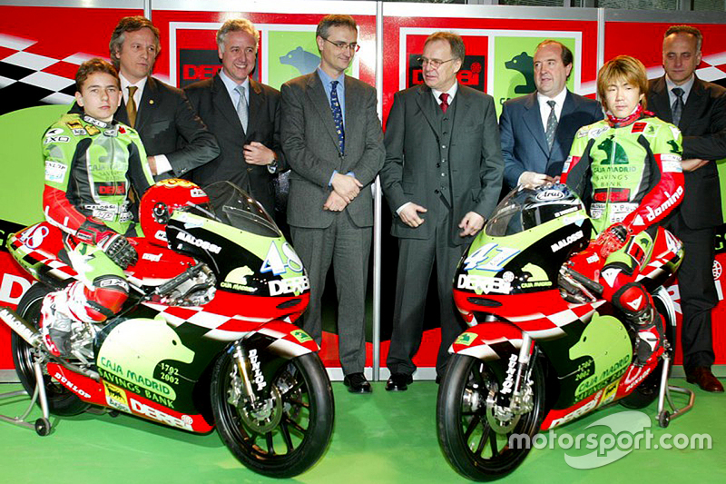 Jorge Lorenzo and Youichi Ui, Derbi