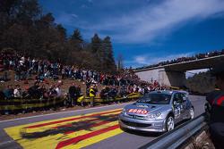 Gilles Panizzi ve Hervé Panizzi, Peugeot Sport Peugeot 206 WRC