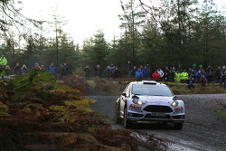Элфин Эванс и Даниэль Баррит, M-Sport Ford Fiesta WRC
