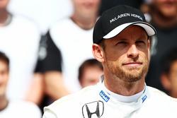 Дженсон Баттон, McLaren на командном фото