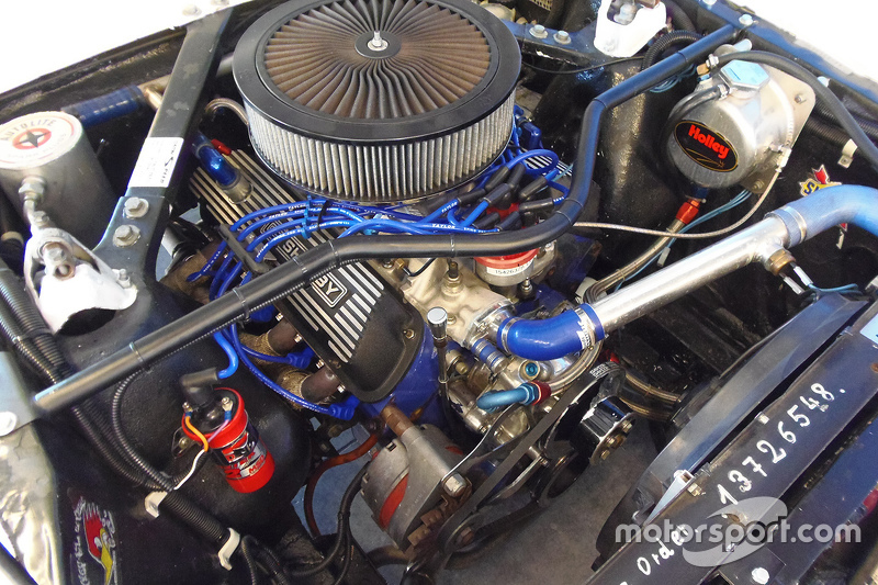 Classic Shelby Mustang engine detail