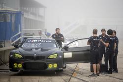 La BMW M6 GTLM durante i test