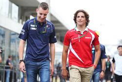 Raffaele Marciello, Sauber F1 Team Piloto de Pruebas y de Reserva con Roberto Merhi, Manor Marussia