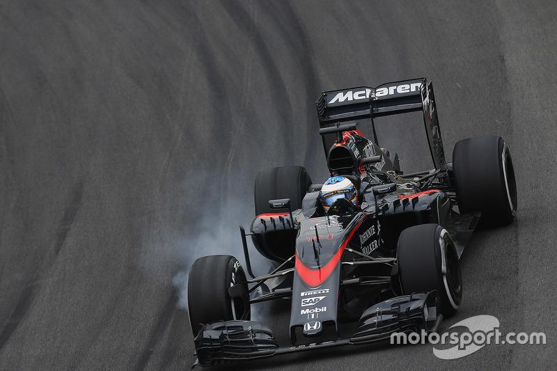 Fernando Alonso en Interlagos