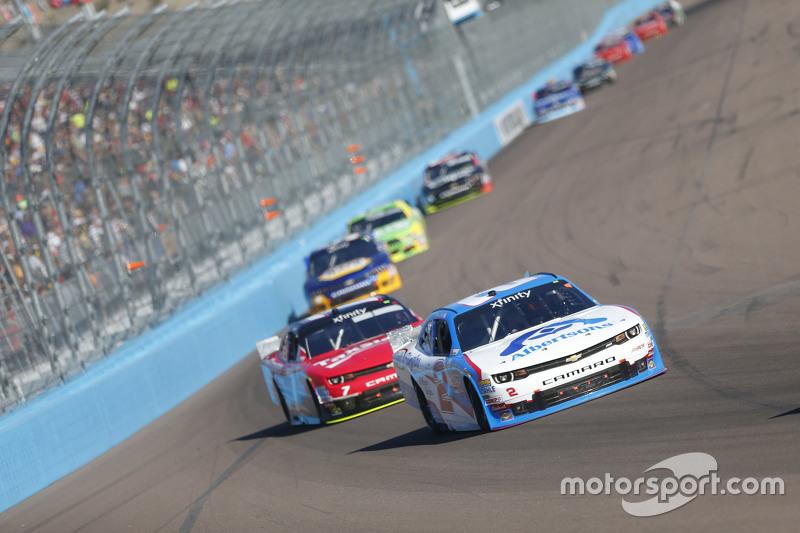 Brian Sott, Річард Чілдресс Racing Chevrolet та Реган Сміт, JR Motorsports Chevrolet