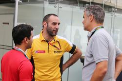 Сиріл Абітебул, Renault Sport F1 Managing Director, з Дітер Гасс, Audi Sport Head of DTM