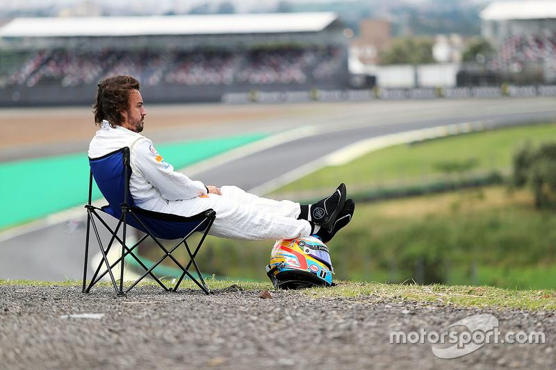 Гран При Бразилии-2015: раскладное кресло в Сан-Паулу