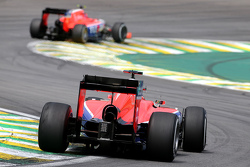 Alexander Rossi, Manor F1 Team and Will Stevens, Manor F1 Team