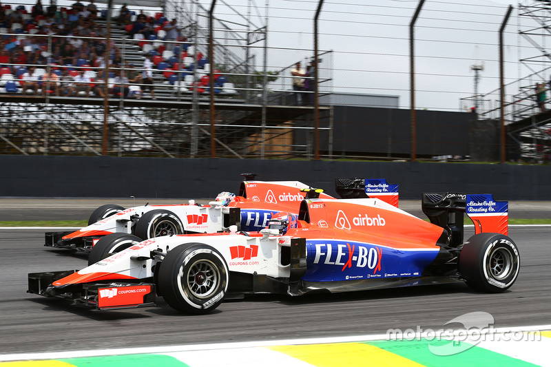 Alexander Rossi, Manor Marussia F1 Team, und Will Stevens, Manor Marussia F1 Team