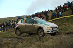 Fabio Andolfi and Simone Scattolin, Peugeot 208 R2
