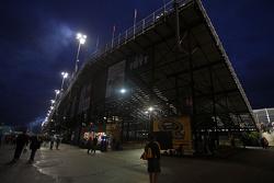 Tribüne am Daytona International Speedway