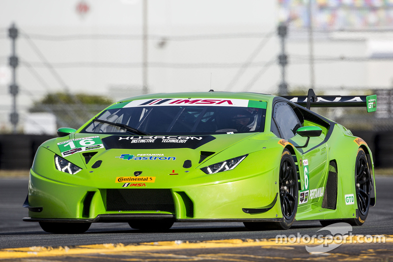 #16 Change Racing, Lamborghini Huracan: Bill Sweedler, Townsend Bell, Bryan Sellers, Madison Snow, Bryce Miller