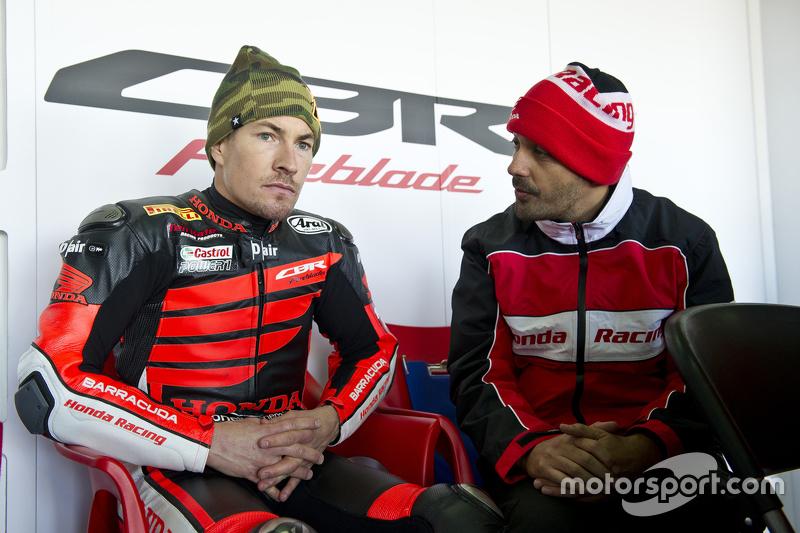 Nicky Hayden, Honda WSBK Takımı