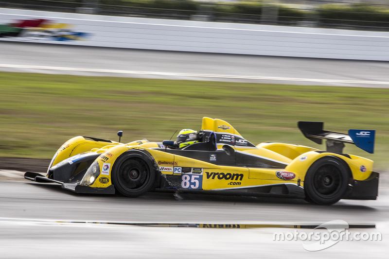 #85 JDC/Miller Motorsports, ORECA FLM09: Chris Miller, Mikhail Goikhberg, Stephen Simpson