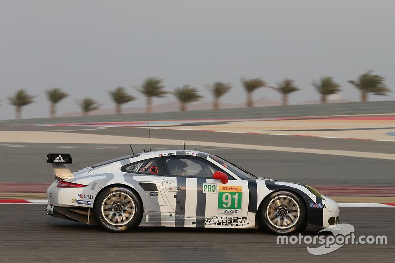 #91 Porsche Team Manthey, Porsche 911 RSR: Richard Lietz, Michael Christensen