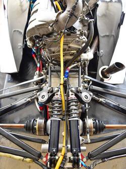 Detail di dalam garasi