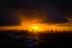 Le centre-ville de Miami