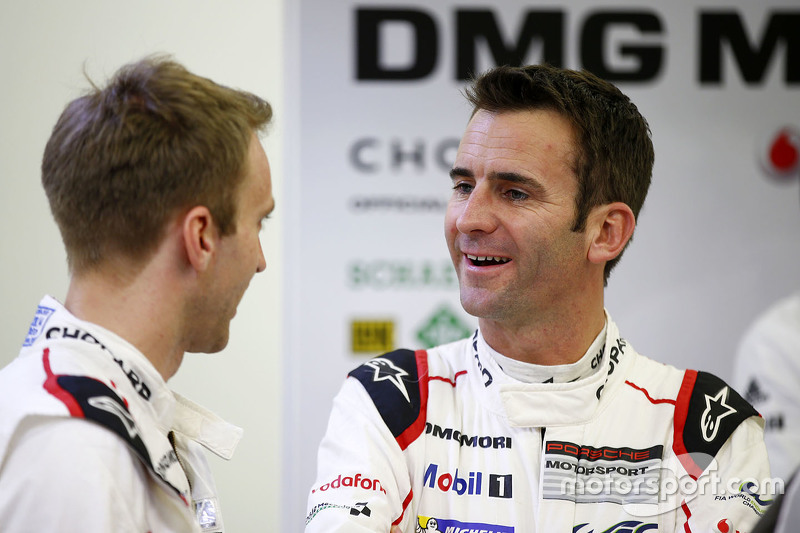 Timo Bernhard and Romain Dumas, Porsche Team