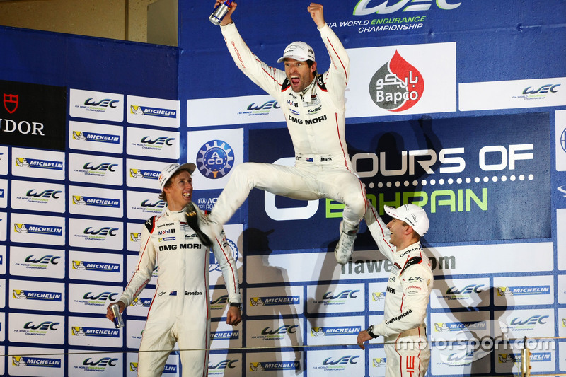 WEC: Timo Bernhard (Duitsland), Brendon Hartley (Nieuw-Zeeland), Mark Webber (Australië)