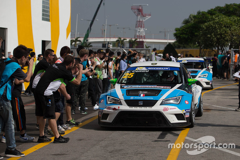 1. und TCR-Champion 2015: Stefano Comini, SEAT Leon, Target Competition