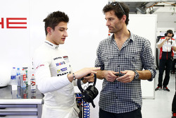 Mitch Evans and Mark Webber, Porsche Team