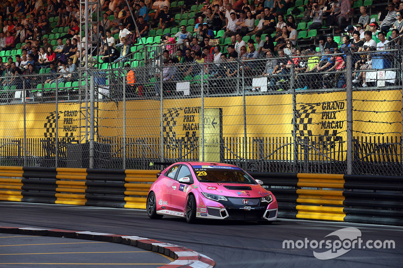 Henry Ho, Honda Civic TCR, Pas Macau Racing Team