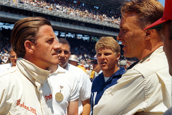 Graham Hill and Dan Gurney