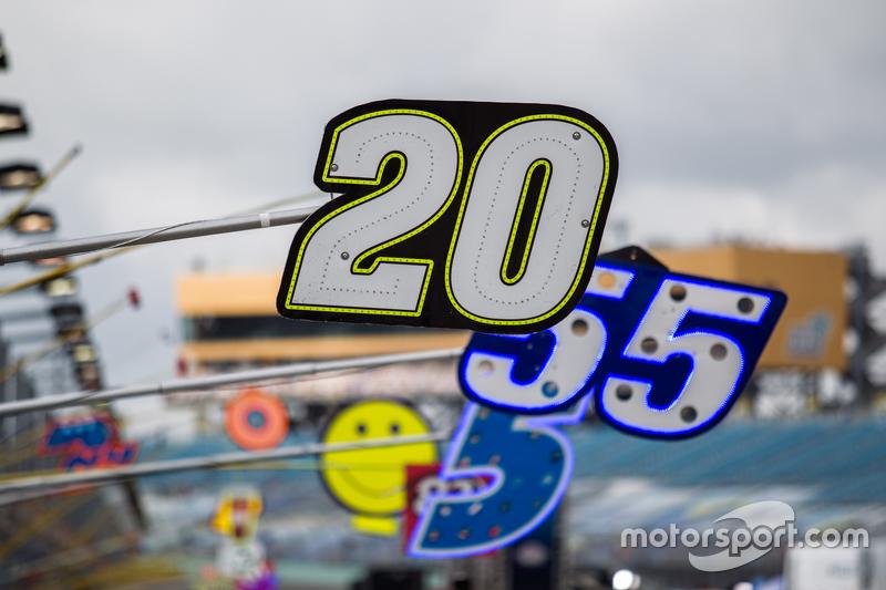 Піт боард для Метт Кенсет, Joe Gibbs Racing Toyota