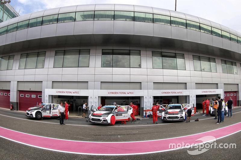 Citroën World Touring Car Team, Teambereich