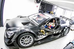 Luca Ludwig, Mercedes-AMG C 63 DTM past zitje