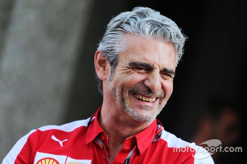Maurizio Arrivabene, Ferrari-Teamchef, in der FIA-Pressekonferenz