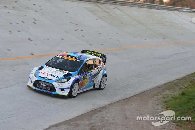 Tobia Cavallini und Andrea Rossetto, Ford Fiesta