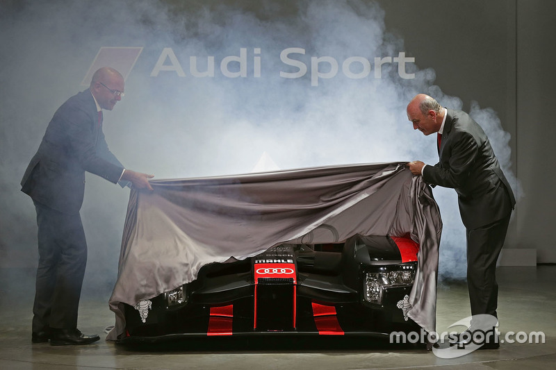 L'Audi R18 2016 est présentée officiellement